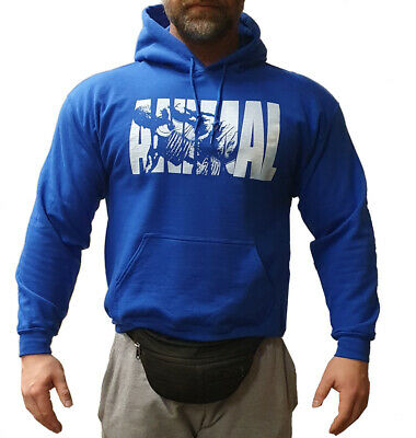 Universal Nutrition Animal Hooded Sweater Blau Bodybuilding Kapuzenpullover