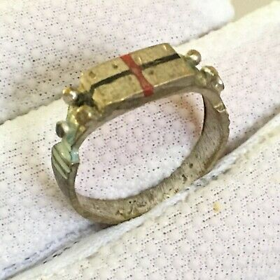 Ancient RARE Roman RING Bronze Legionary Extremely Old Ring Authentic Artifact