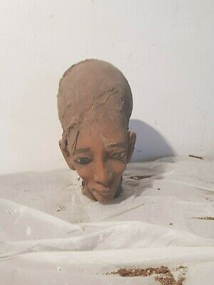 Rare Antique Ancient Egyptian Statue Queen MeritAten worship sun 1353–1336 BC