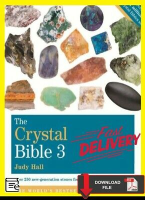 The Crystal Bible 3 by Judy Hall 🔥 📧