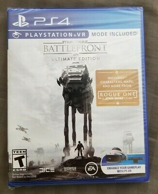 Star Wars: Battlefront -- Ultimate Edition (PlayStation 4, PS4) FAST FREE SHIP