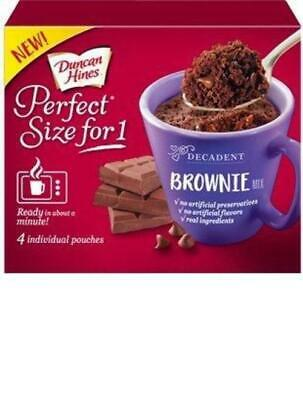 Duncan Hines Perfect Size For 1 Cake Mix (Brownie)