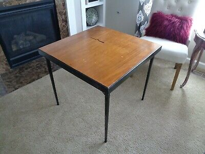 Vintage Singer Featherweight 221-1 Sewing Machine Folding Table with Insert
