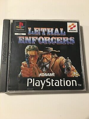 Lethal Enforcers (Sony PlayStation 1) VGC RARE