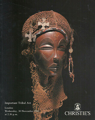 CHRISTIE'S LONDON TRIBAL ART OCEANIC AFRICAN AMERICAN INDIAN Catalog 1994