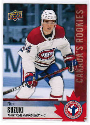 2020 UD NATIONAL HOCKEY CARD DAY CANADA CARDS CAN-1 to CAN-16 U-Pick From List