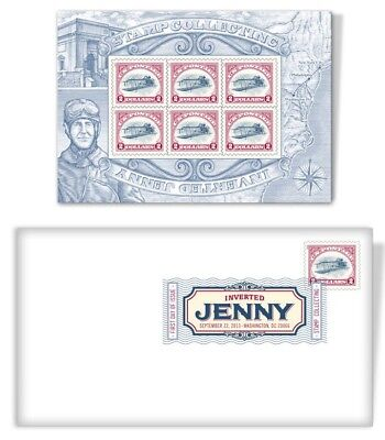 Scott #4806 $2 Inverted Jenny Sheet FDC First Day Cover USPS Stamp Set