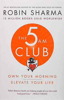 The 5 AM Club: Own Your Morning. Elevate Your Life. [E-ß00K,PÐF,EPUβ,Кindle]