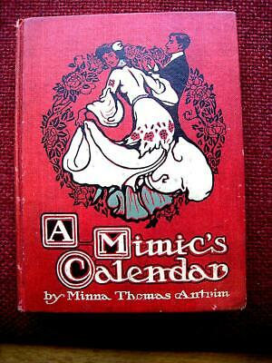Decorative Designers Binding A Mimics Calendar 1905 Henry Lee Thayer Arts&Crafts