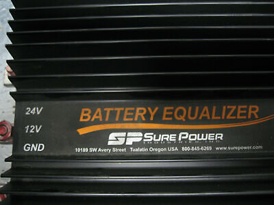 SURE POWER 12V 24V DC 100A DC TO DC CONVERTER BATTERY EQUALIZER 52210 @Outshelf