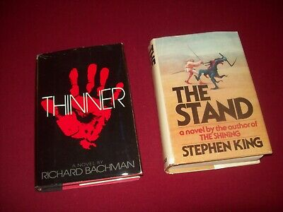 2 Stephen King Hardcover Novels ~ The Stand & Thinner