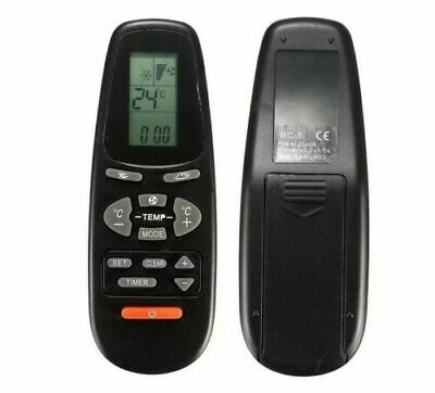 Air Conditioner Remote Control Black High Quality Suitable For Electra RC 5