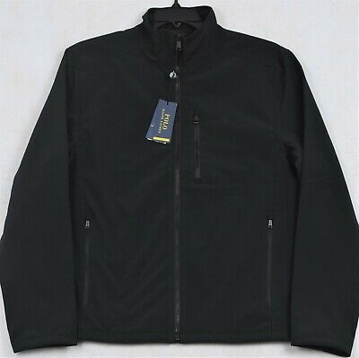 Polo Ralph Lauren Performance Black Jacket Water Repellent Full Zip M NWT $168