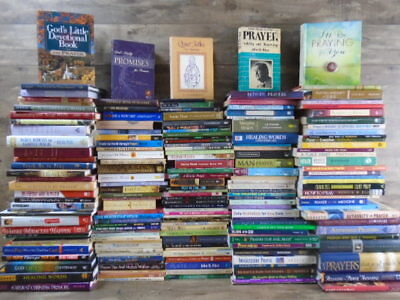 HUGE lot (181) Prayer / Praying Books  by