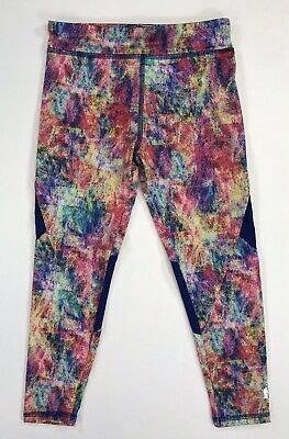 Adidas Girls multi print 994 Leggings Size 5 AK4490 NWT
