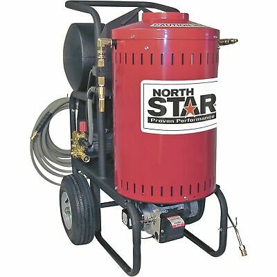 NorthStar Electric Wet Steam & Hot Water Pressure Washer- 2700 PSI 2.5 GPM 230V
