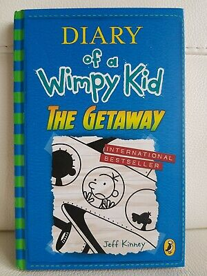 Diary of a Wimpy Kid: The Getaway (book 12), Jeff Kinney, Used as New, Hardback