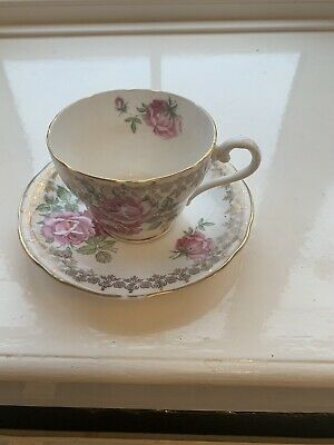Vintage Aynsley Tea Cup And Saucer