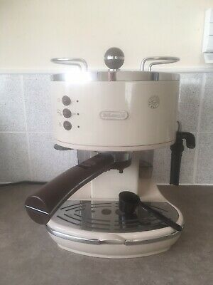 De'Longhi ECOV311.BG Icona Vintage Espresso Coffee Machine 15 bar Cream