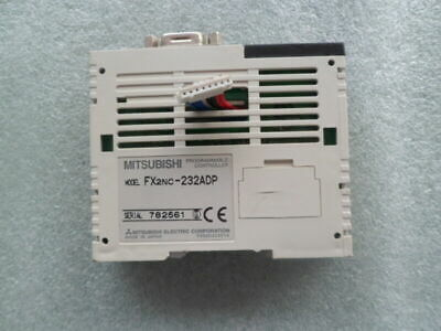 1PC Used Mitsubishi PLC FX2NC-232ADP Programmable Controller  60days warranty