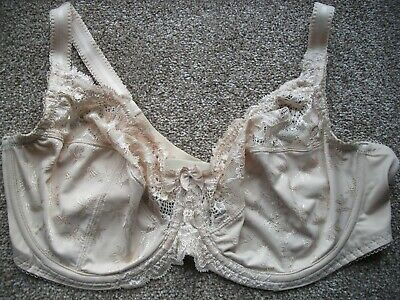 P127 Ex Marks and Spencer Lace Padded Plain /& Strapless Underwired Bra 38DD