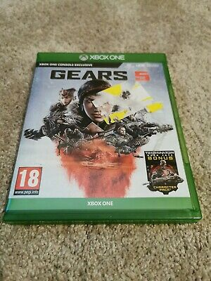XBOX ONE GAME - GEARS 5 - Pegi 18 *SEE DESCR.*