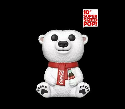 "Funko Pop Vinyl Ad Icons Coca Cola Polar Bear  10"" Funko Shop"