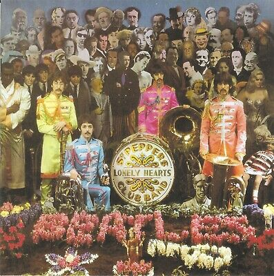 RARE The Beatles Sgt Pepper inc DEMO's & Outtakes CD