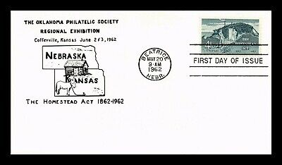 Dr Jim Stamps Us Homestead Act First Day Cover Scott 1198