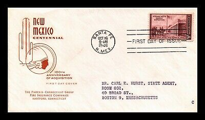 Dr Jim Stamps Us New Mexico Centennial House Of Farnum Fdc Cover Scott 944