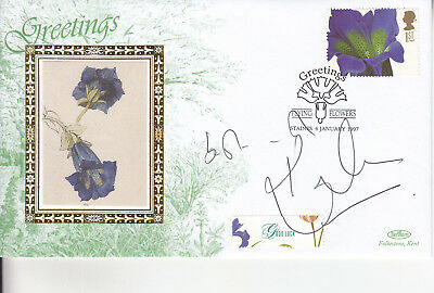 Kate Humble Signed Benham Greetings Envelope