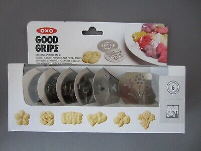 OXO Good Grips Springtime Cookie Press Disks (Set of 6) • New