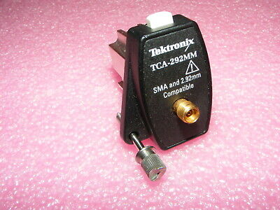TEKTRONIX TCA-292MM SMA AND 2.92mm INPUT CONNECTOR TEKCONNECT ADAPTER