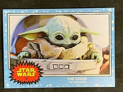 TOPPS STAR WARS LIVING SET- THE CHILD BABY YODA Mandalorian #58 Free Shipping