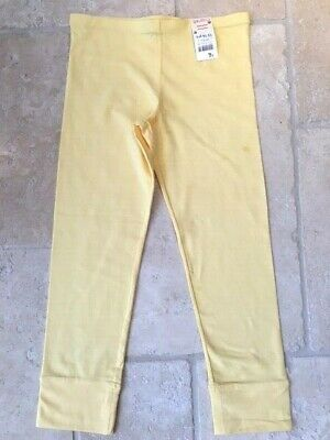 Cherokee Butter Yellow Calf Length Leggings 13-14Yrs. Brand New With Tags.