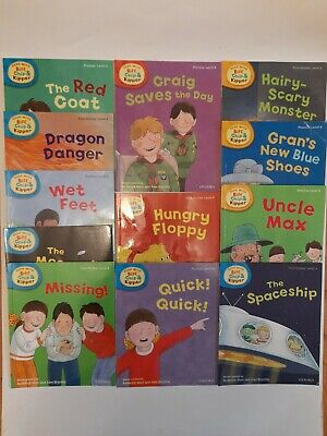 Oxford Reading Tree Read with Biff Chip and Kipper Level 4-6 Collection 12 Books