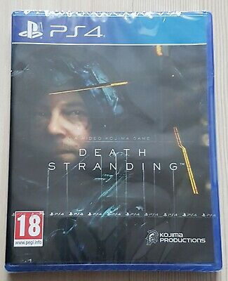 Death Stranding PS4 Game ( New & Sealed)