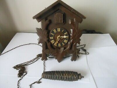 Vintage Cuckoo Clock  by G. M. Anger  Spares or Repair