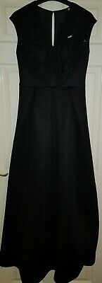 NEW Ladies Black Evening Dress By Ted Baker TB 2 UK 10 Great for Christmas BNWT