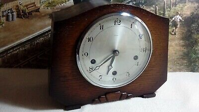 Enfield westminster Mantle clock in excellent serviced working condition