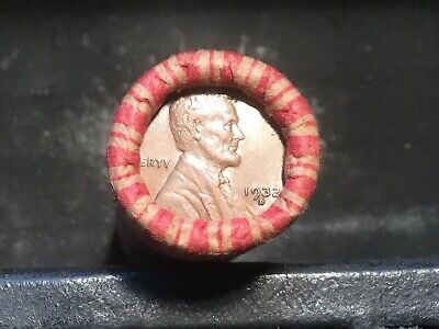 Very Nice HIGHER GRADE Wheat Cent Roll up for bid, 1932-D, 1931 on ends #61