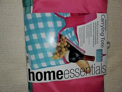"""New Home Essentials Carrying Insulated Rectangle Casserole Portable Tote Bag 16"""""""