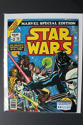 MARVEL SPECIAL EDITION Featuring STAR WARS #2 Treasury Comic 1977 CBCS NM/MT 9.8