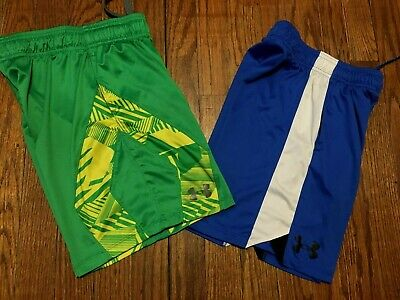 Lot of Boy's Under Armour Athletic Shorts Size YSM Small 8