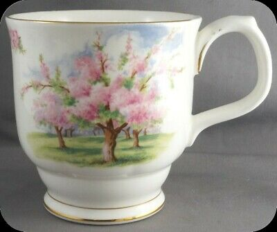 Royal Albert Blossom Time Footed Coffee Mug (Four Available)