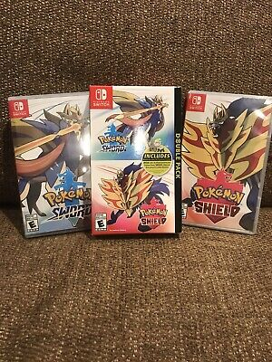 Nintendo Switch Pokemon Sword and Shield Both Games