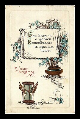 Dr Jim Stamps Us Happy Christmas Embossed Topical Greetings Postcard