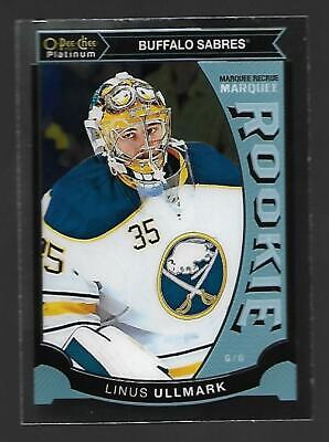 Linus Ullmark 2015-16 OPC O-Pee-Chee Platinum Marquee Rookie M13 Buffalo Sabres