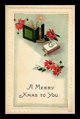Dr Jim Stamps Us Merry Xmas To You Embossed Topical Greetings Postcard