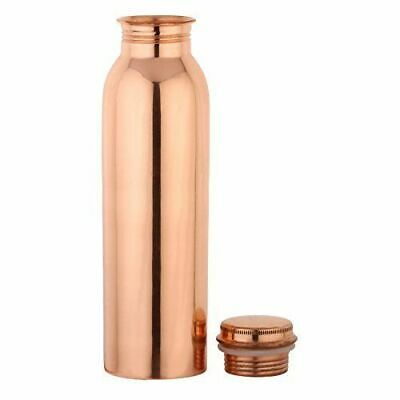 Pure Handmade Copper Water Bottle 950ml (32oz) Pure Copper Flask Free Shipping